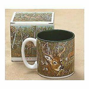 Coffee Cups Mug Deer Farm Rustic Wildlife Hunting Drinkware