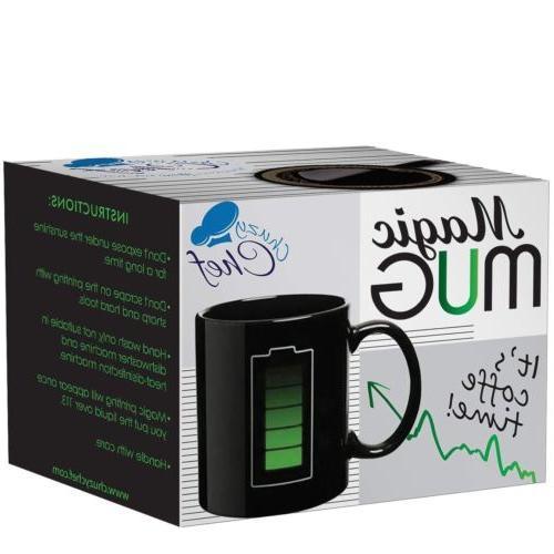 Coffee Magic Mug Battery Mug