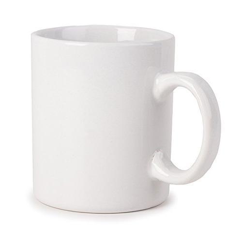 e34ad73755 Darice 20 oz Coffee Mug, White
