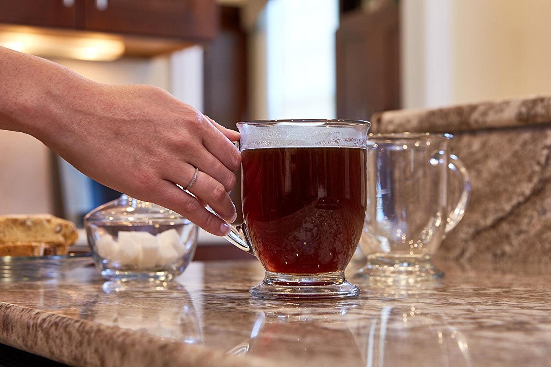 Coffee Mug Set Of Tea Chocolate 16 Cafe Teacup New