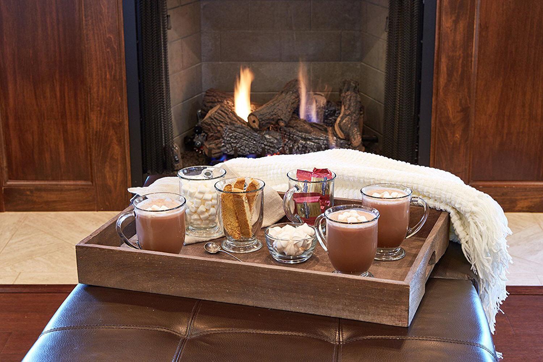 Coffee Mug Clear Set Of Chocolate Cups 16 Cafe Decor New