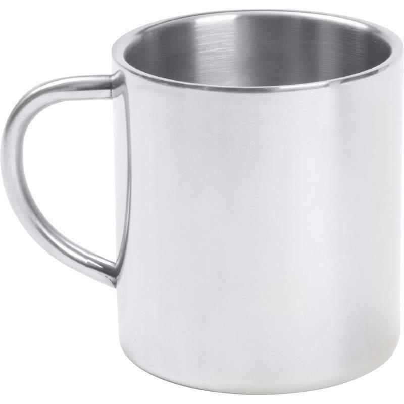 14oz COFFEE MUG Cup Stainless Steel Double Wall Tea Water Camping Travel