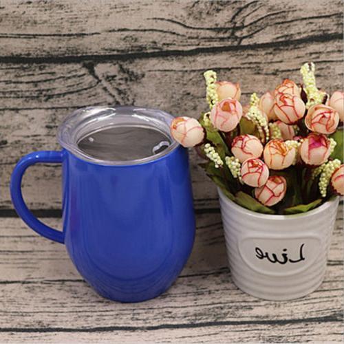 Coffee Mug Wall Stainless Cup Travel Tea Insulated Tumbler