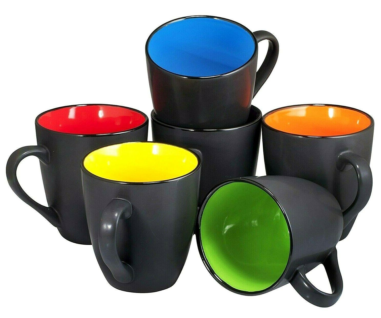 Coffee Set of Ounce Restaurant Mugs Bruntmor