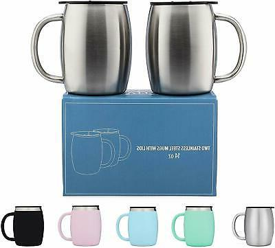 coffee mug stainless steel double