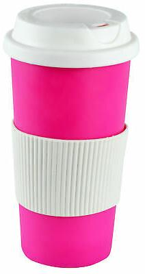 Coffee 16oz Thermal Mug Travel To Go Double Walled with Lid