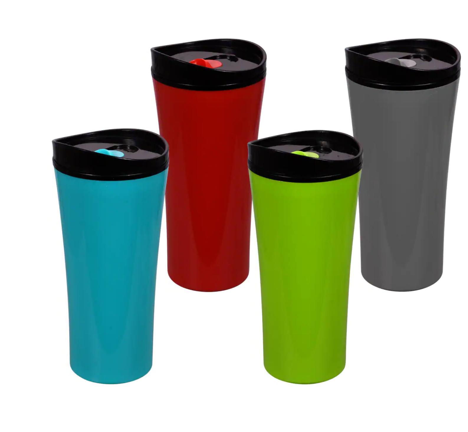 Coffee / Travel Mug Cup Choose  Color Options 16 Ounce $6.49