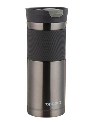 Coffee Travel Steel Cup Insulated 20 oz Gunmetal .