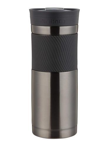 Coffee Mug Stainless Steel Cup Insulated Gunmetal .