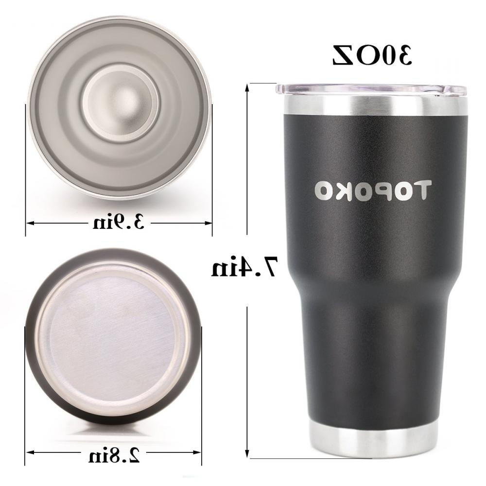 Coffee Tumbler Insulated Stainless Leak Travel,