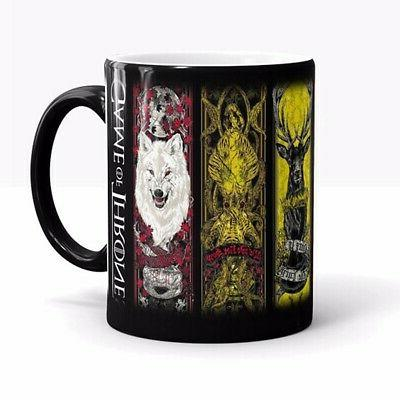 Color Changing Coffee Cup Mug Heat Sensitive for Game Gift
