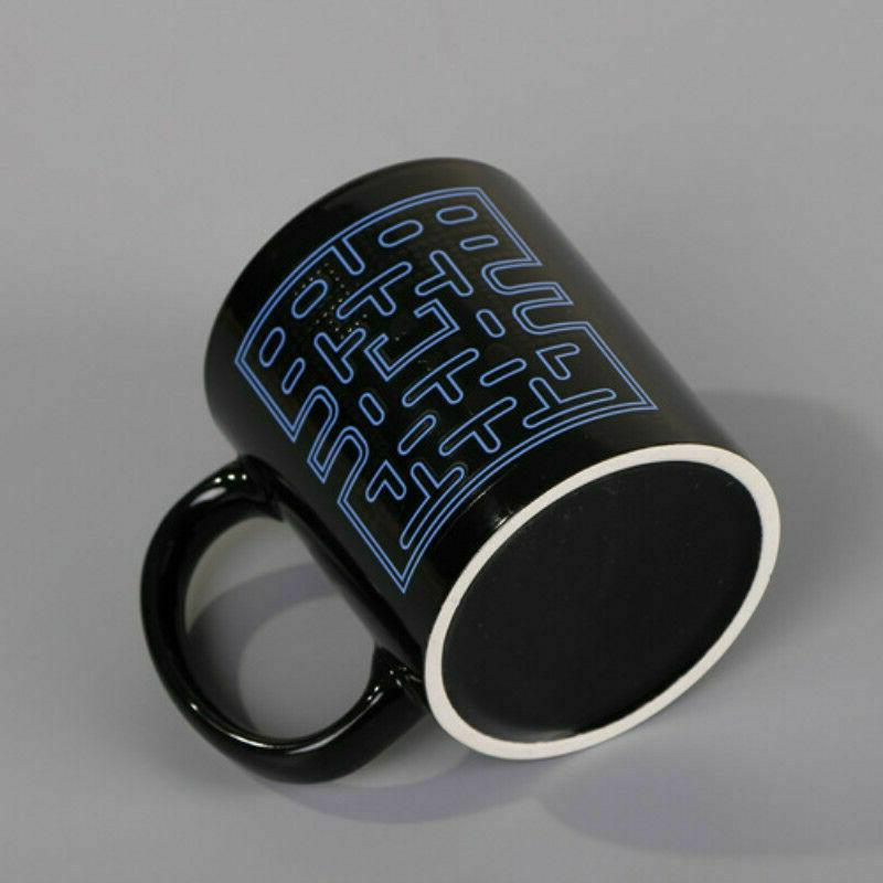 Creative Pac-Man Heat Color Porcelain Coffee