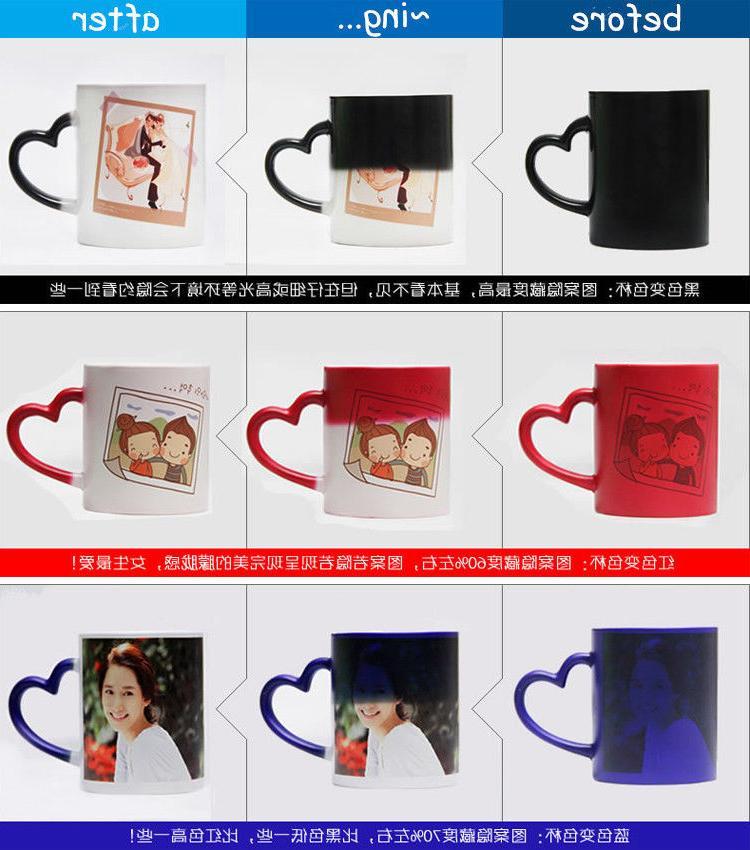 Custom Magic Coffee Personalized Image Photo Color Mug