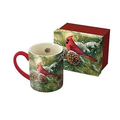 december dawn cardinal 14 oz mug coffee
