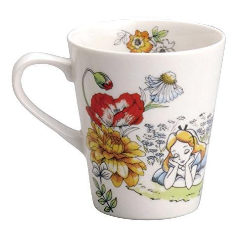 disney alice wonderland porcelain mug