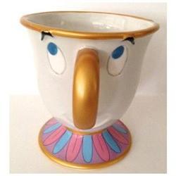 Disney Parks Beauty and the Beast Chip Ceramic Mug NEW