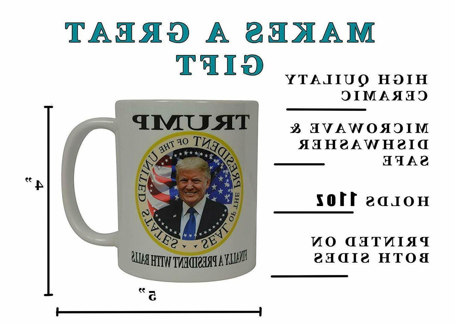 Donald Trump Finally Balls Cup Gift