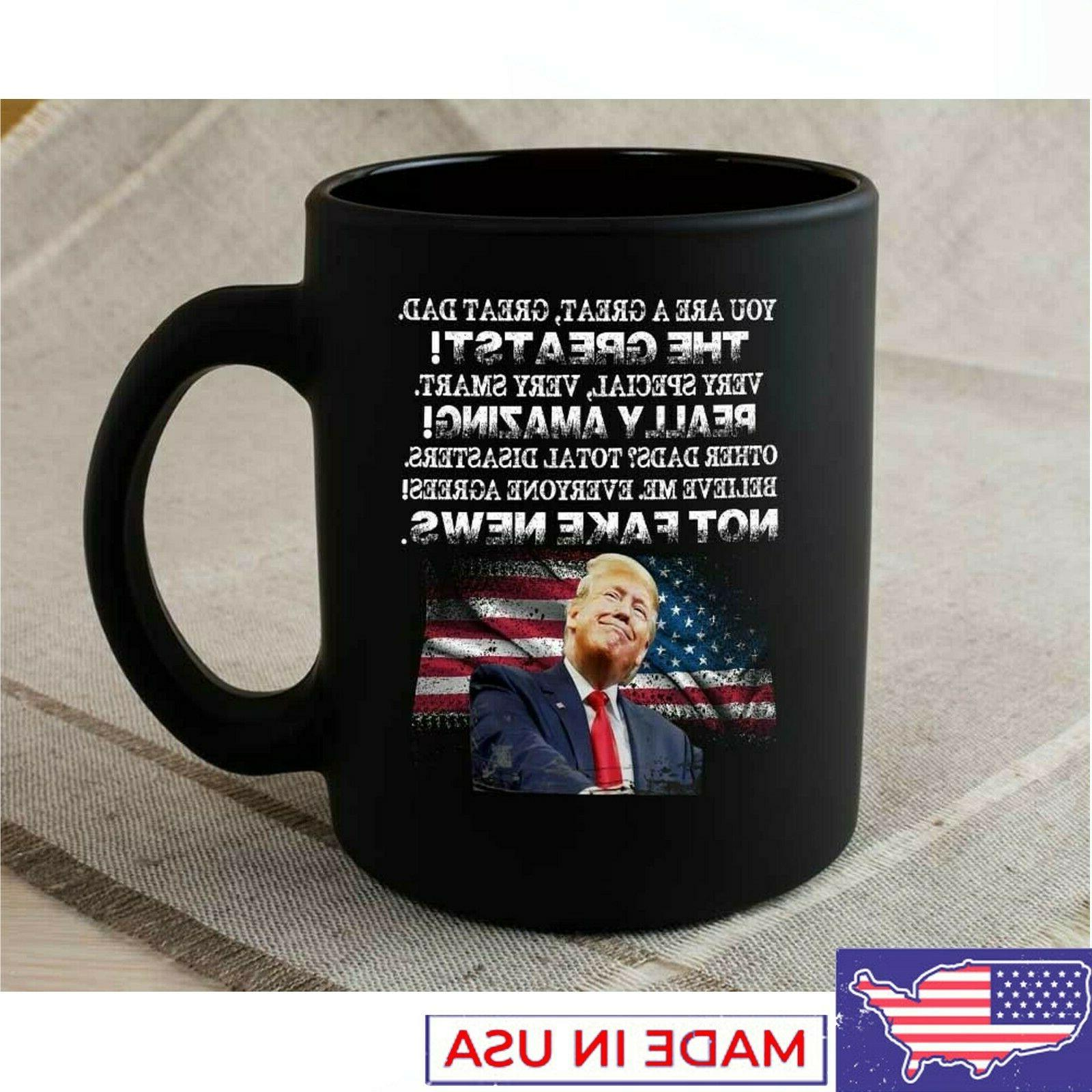 Funny Donald Trump Father's Day Coffee Mug from Daughter or
