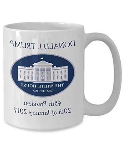 DONALD TRUMP Inauguration Day 2017 President Coffee Mug 15oz