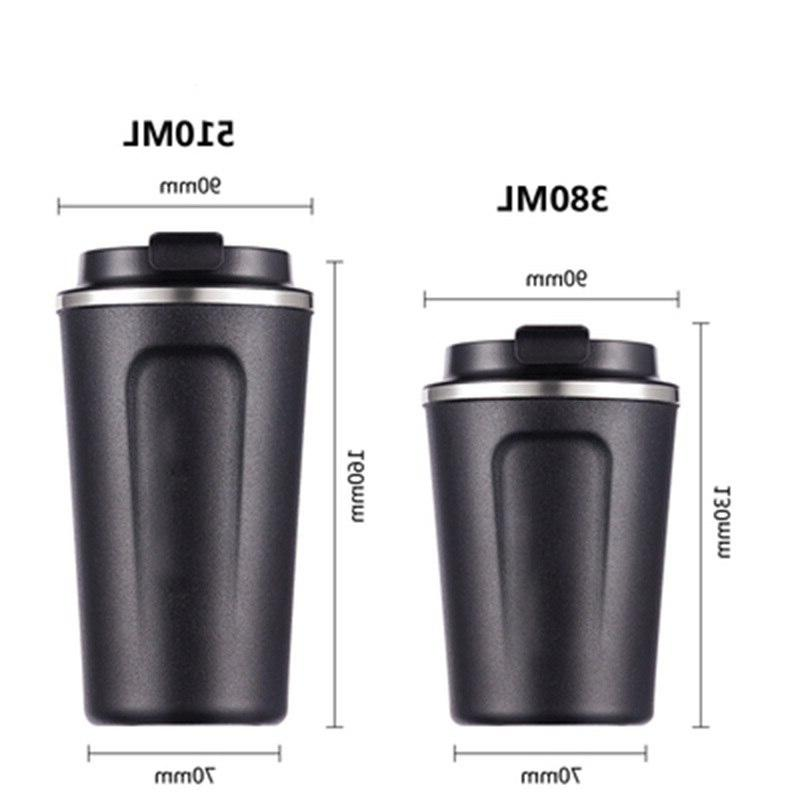 Double Stainless steel <font><b>Mug</b></font> <font><b>Thermos</b></font> Cup Thermosmug For 510/380ML