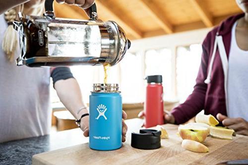 Vacuum Steel Water Bottle, w/Hydro Flip Pacific