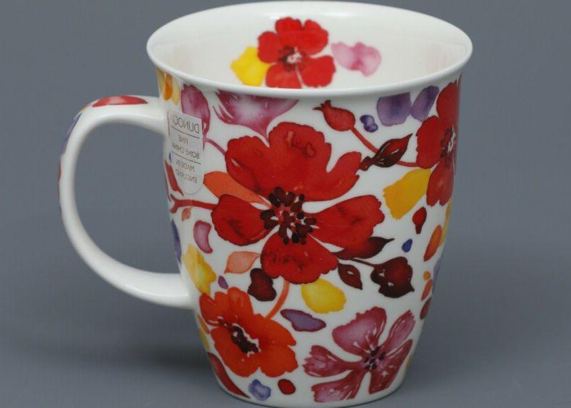 dunoon firenze fine bone china nevis mug