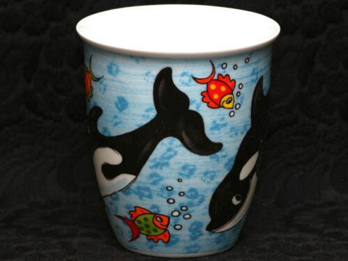DUNOON WHALES China Mug