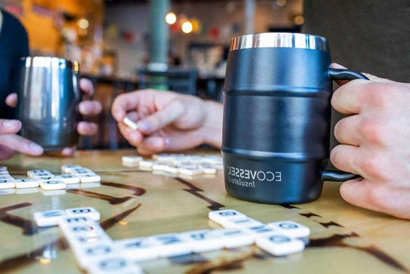 Eco Vessel Wall Stainless Drink & Coffee Mug, New