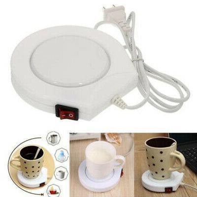 Electric Cup Mug Milk Tea Coffee Drink Warmer Winter Heater