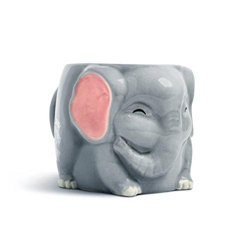 Luckyoo Irrelephant' Elephant Mug