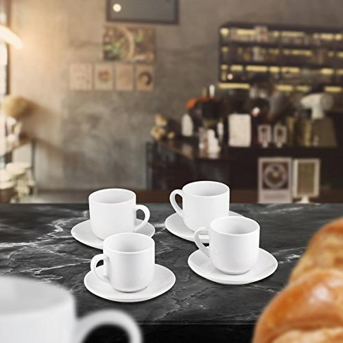 Espresso Cups Saucers by - ounce