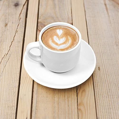 Espresso by ounce - White - Set of 4