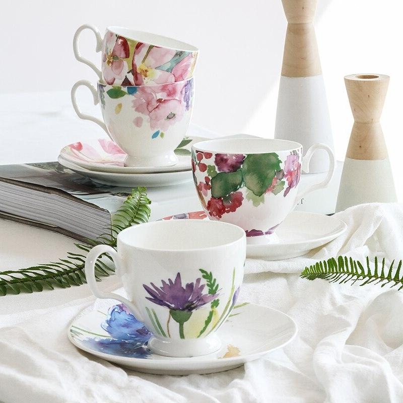 European Country style <font><b>coffee</b></font> cups <font><b>home</b></font> drink afternoon tea set a can be customized