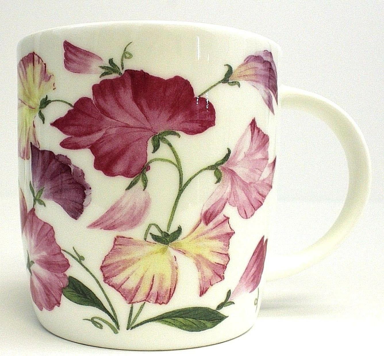 Roy Kirkham Fine Bone China Coffee Tea Cup Mug England Flora