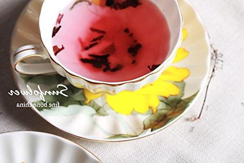 Fine China Vintage Mug Tea Cup Saucer