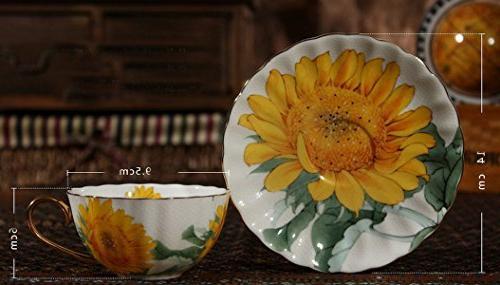 Fine Vintage Chintz Mug Tea Cup with Saucer
