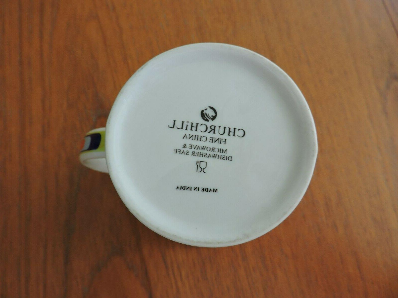 Churchill Modern Coffee Mug NWOT