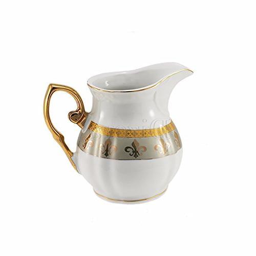 Euro Porcelain Tea Cup Premium 24K Gold-Plated,