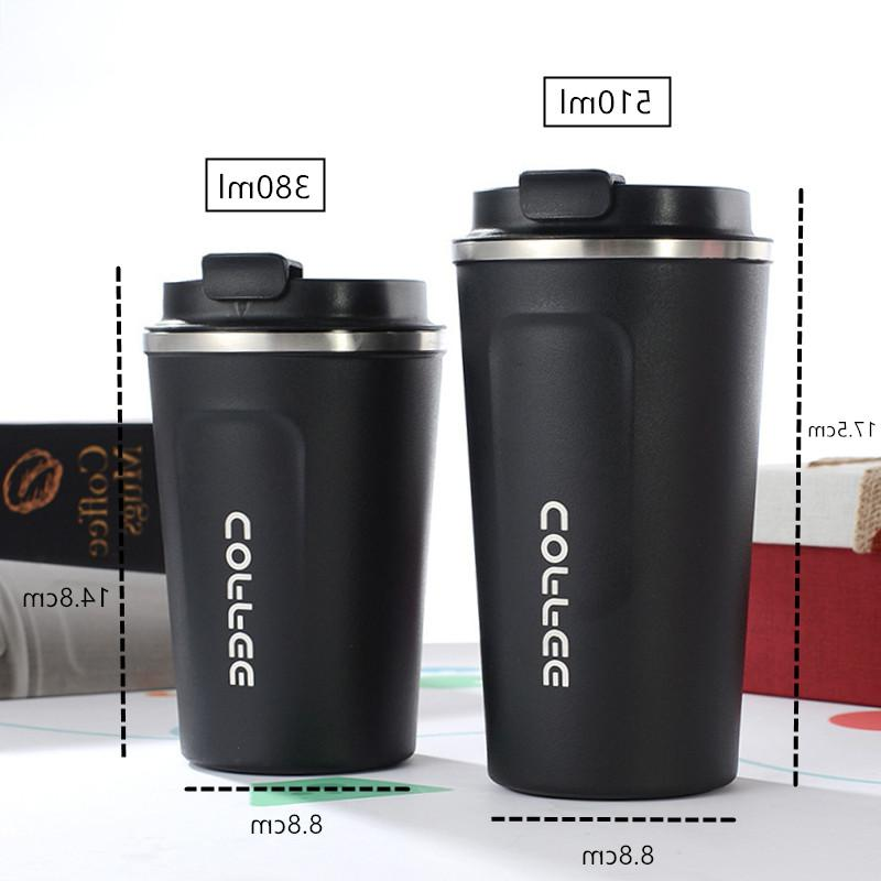 380ml/510ml Stainless Steel <font><b>Coffee</b></font> <font><b>Thermos</b></font> <font><b>Mug</b></font> Vacuum Cup Water Thermocup