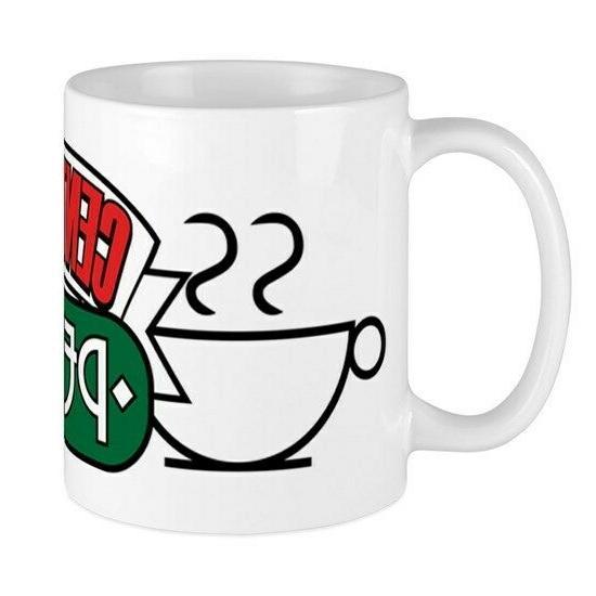 friends tv central perk official coffee mug