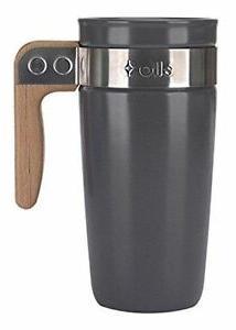 Ello Fulton BPA-Free Ceramic Travel Mug with Lid 16 oz - Gre