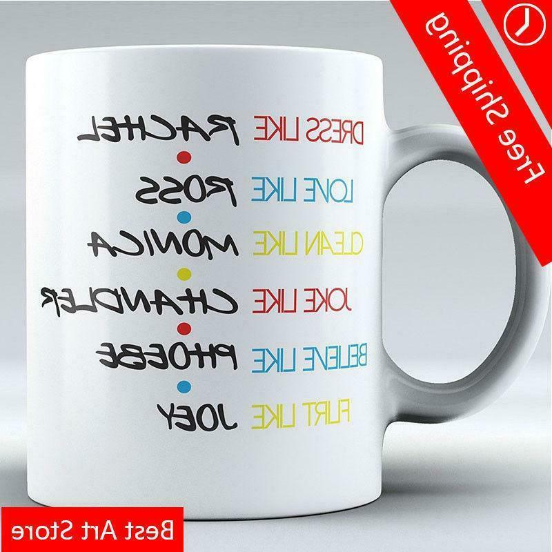 Funny Mug -FRIENDS TV Show Mug-Mug Inspired By Friends - Cof