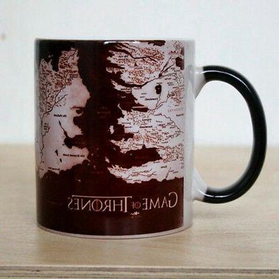 Game of Thrones Mug Sensitive Changing Ceramic Mug