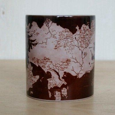 Game Map Mug Changing Ceramic Mug