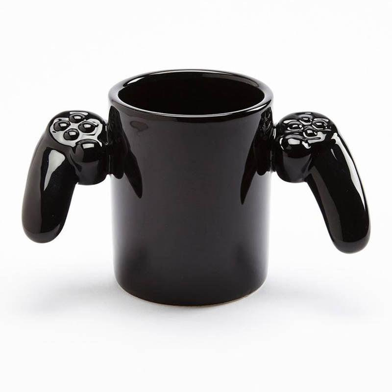 Game Over Mug Cup PlayStation Controller Free Shipping