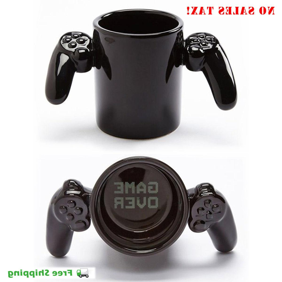 game over ceramic coffee mug