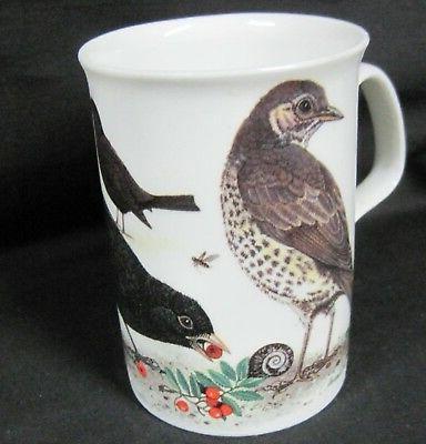 GARDEN BIRDS, SET FINE BONE Made In Roy Kirkham,