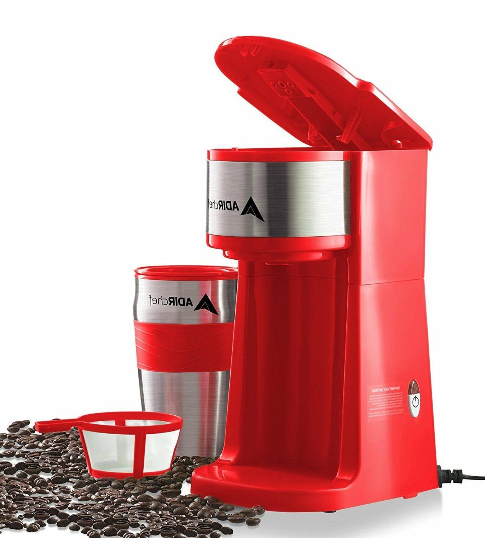 AdirChef Personal Coffee Maker 15 oz. Mug Choose