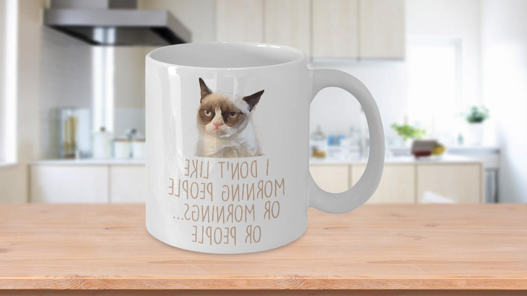 Grumpy Cat Coffee Mug, 11