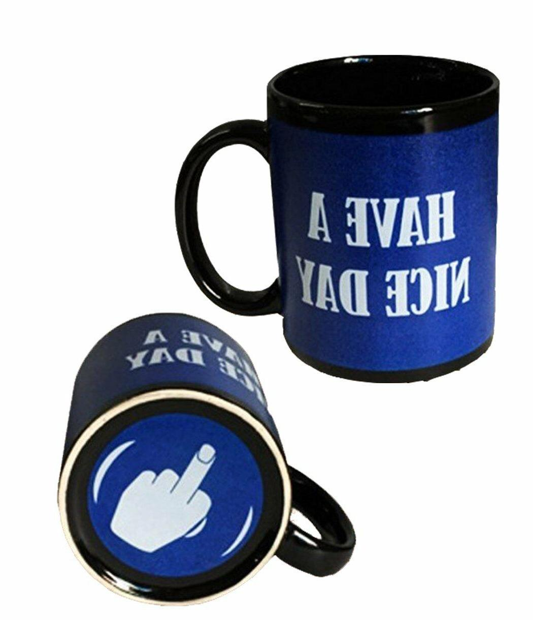 ddc6c9ce622 Have A Nice Day Coffee Mug Middle Finger